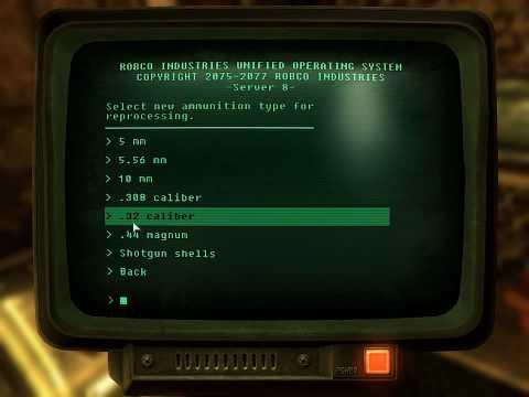 Fallout 3: The Pitt ammo press