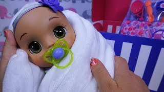 BABY ALIVE Real As Can Be Baby & New Mommy Kit UNBOXING!!!