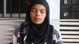 Malay girl singing tamil song (Oh Penne-Vanakam Chennai)