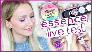 NEUES ESSENCE SORTIMENT im LIVE TEST - WINTER Makeup Tutorial - TheBeauty2go