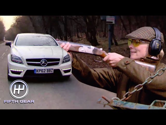 Vicki's classic Mercedes CLS63 AMG Shooting Brake Test Drive   Fifth Gear