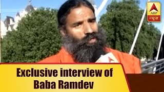 Baba Ramdev In An Exclusive Interview Says, Modi