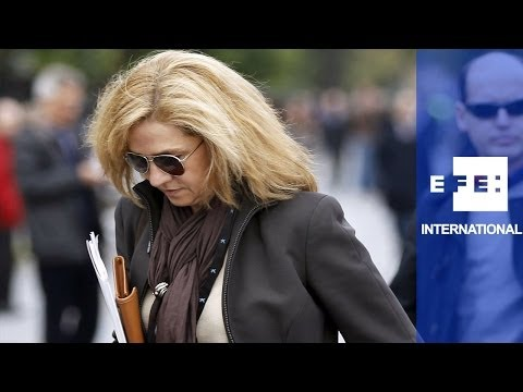 Spain's Princess Cristina indicted for alleged tax offences and money laundering