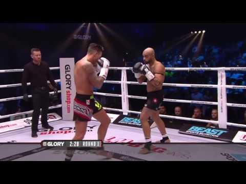 GLORY 29 Copenhagen - Nieky Holzken vs Yoann Kongolo (Welterweight Title Fight)