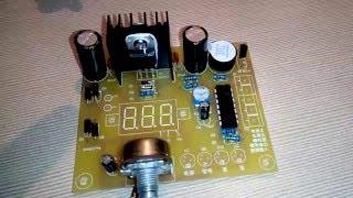 Блок питания с регулировкой тока своими руками 1-15 вольт!