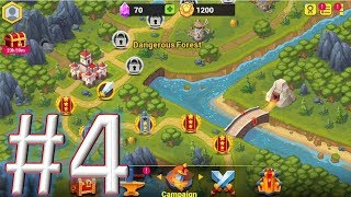 Toy Defense Fantasy - TD Strategy Game #challenge 4 gameplay(android & ios)