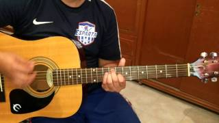 Tutorial Fool again - Westlife guitar