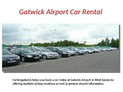 Gatwick Airport Car Hire