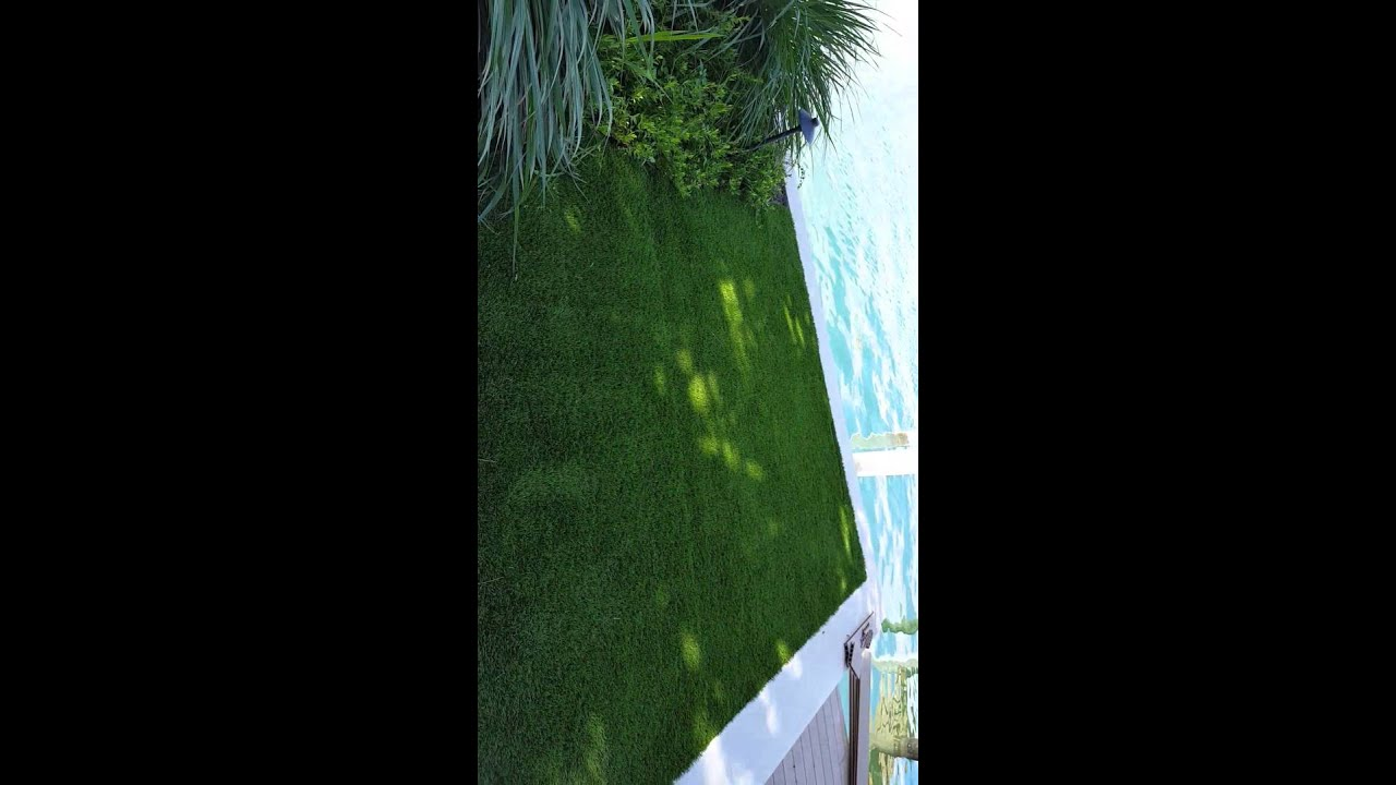 landscaping company miami defective turf replacement by monster grass artificial turf installation company miami beach florida