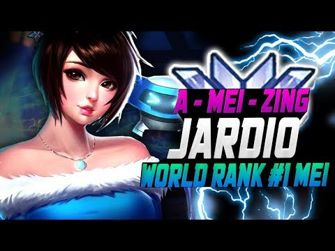 A-MEI-ZING JARDIO! WORLD RANK #1 MEI! [ OVERWATCH SEASON 11 TOP 500 ] thumbnail
