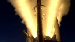 Launch Abort Motor Test for NASA's Orion Spacecraft