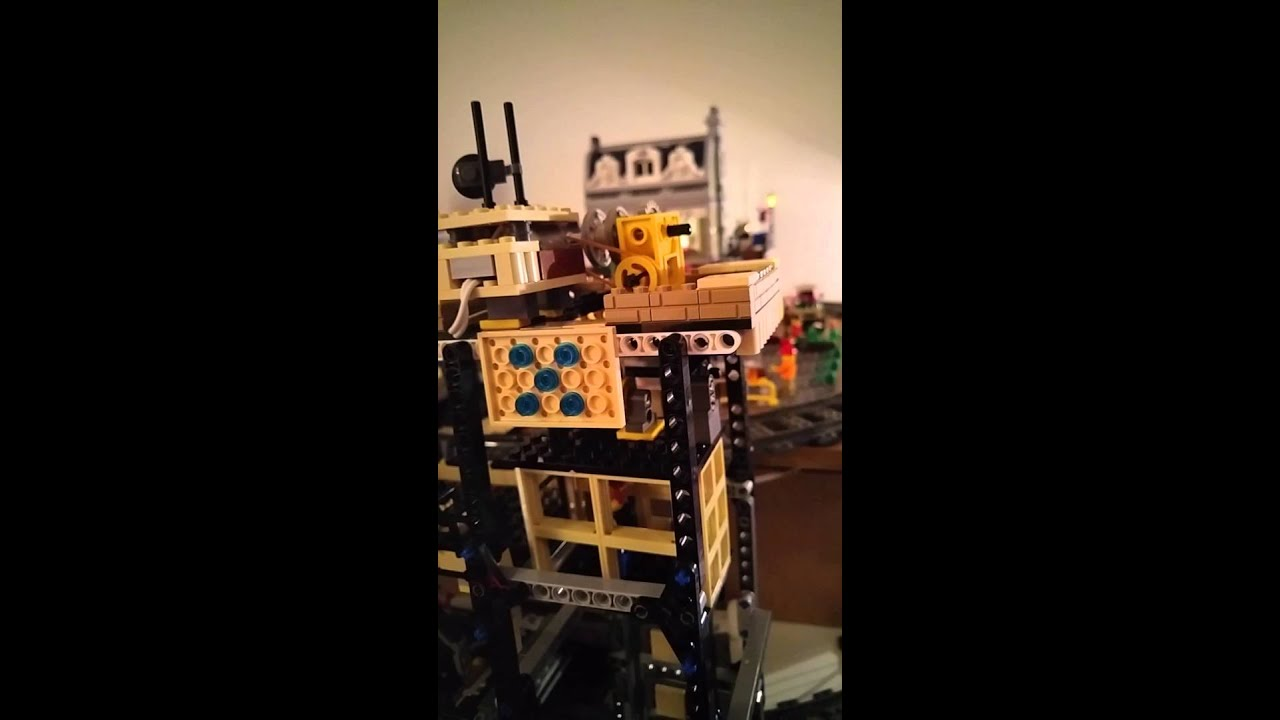 Lego elevator with arduino youtube