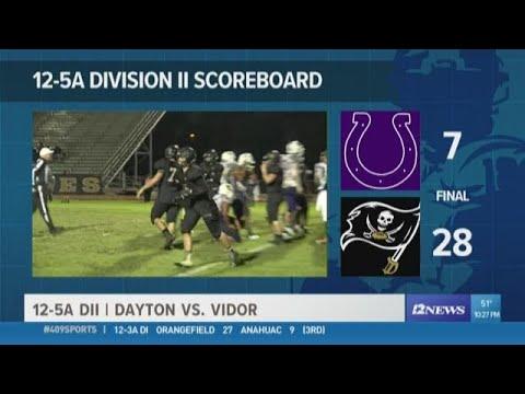 WEEK 11: Vidor High School takes down Dayton 28 - 7
