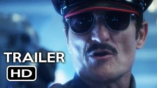 Officer Downe Official Trailer #1 (2016) Shawn Crahan Action Movie HD