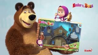 Masha and the Bear | Big Bear House Playset | English