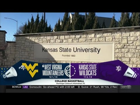 NCAAB 01 01 2018 West Virginia at Kansas State 720p60