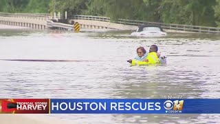 Team Coverage Of Epic Flooding In Houston Due To Tropical Storm Harvey