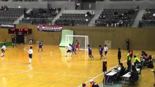 全日本ユース(U15)フットサル大会 予選ラウンド グループB ジェネラーレvs千葉サッカークラブ(後半)