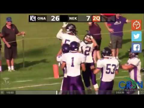 Onalaska vs. Nekoosa High School Football 2016