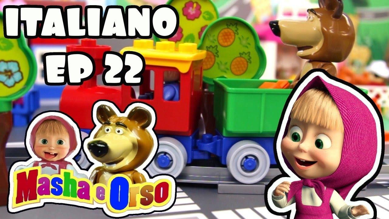 Masha e orso italiano episodio quando non c è