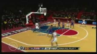 NBA LIVE 09 Wii GamePlay