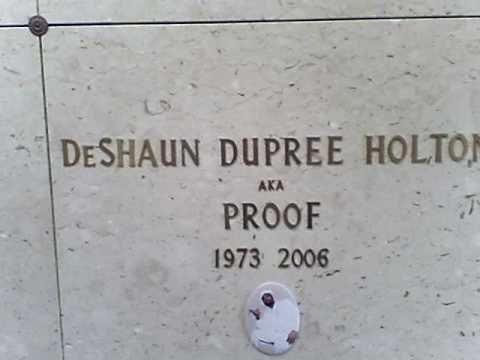 Proof (of D12) gravesite at Woodlawn Cemetery in Detroit