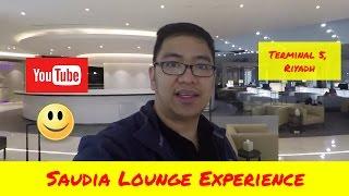 Travel Vlog Riyadh Domestic Airport Terminal 5 Saudia Business Class Lounge Experience