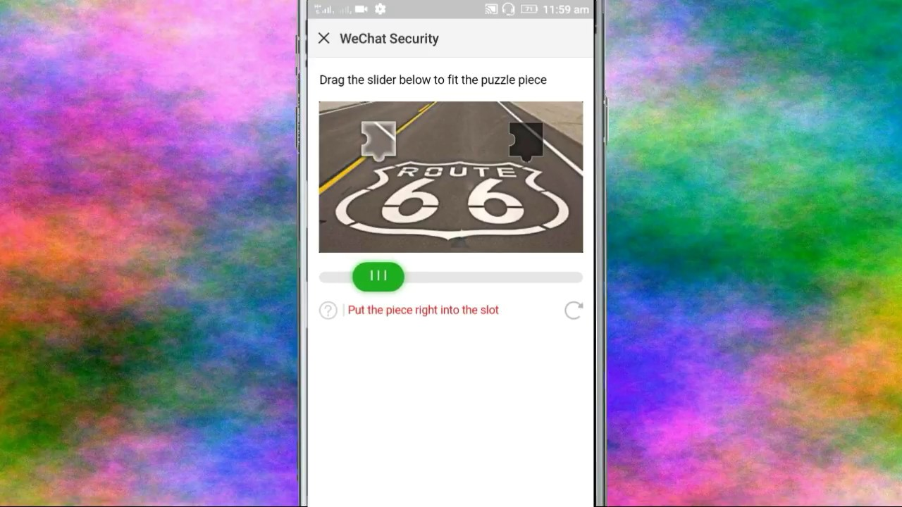 Fix Wechat Security Verification And Create Account Problem Solve