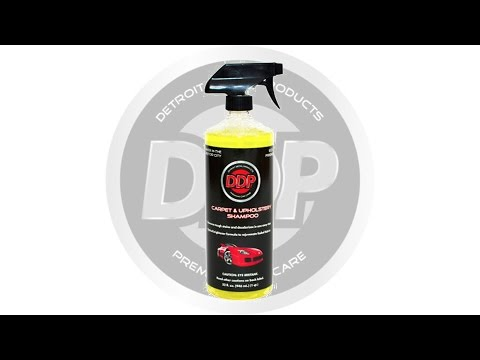 Detroit Detail Products | Carpet and Upholstery Shampoo