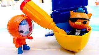 Октонавты (октонафты) - Видео для детей с игрушками - Новые серии