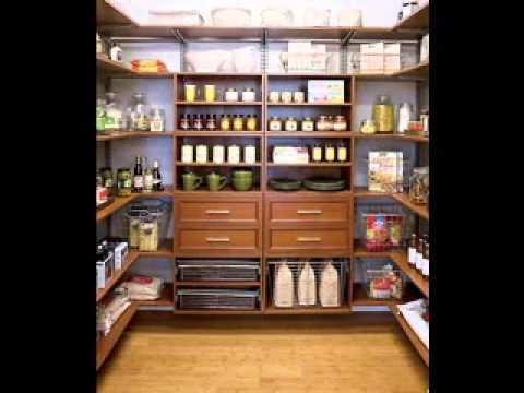 Kitchen pantry design ideas - YouTube