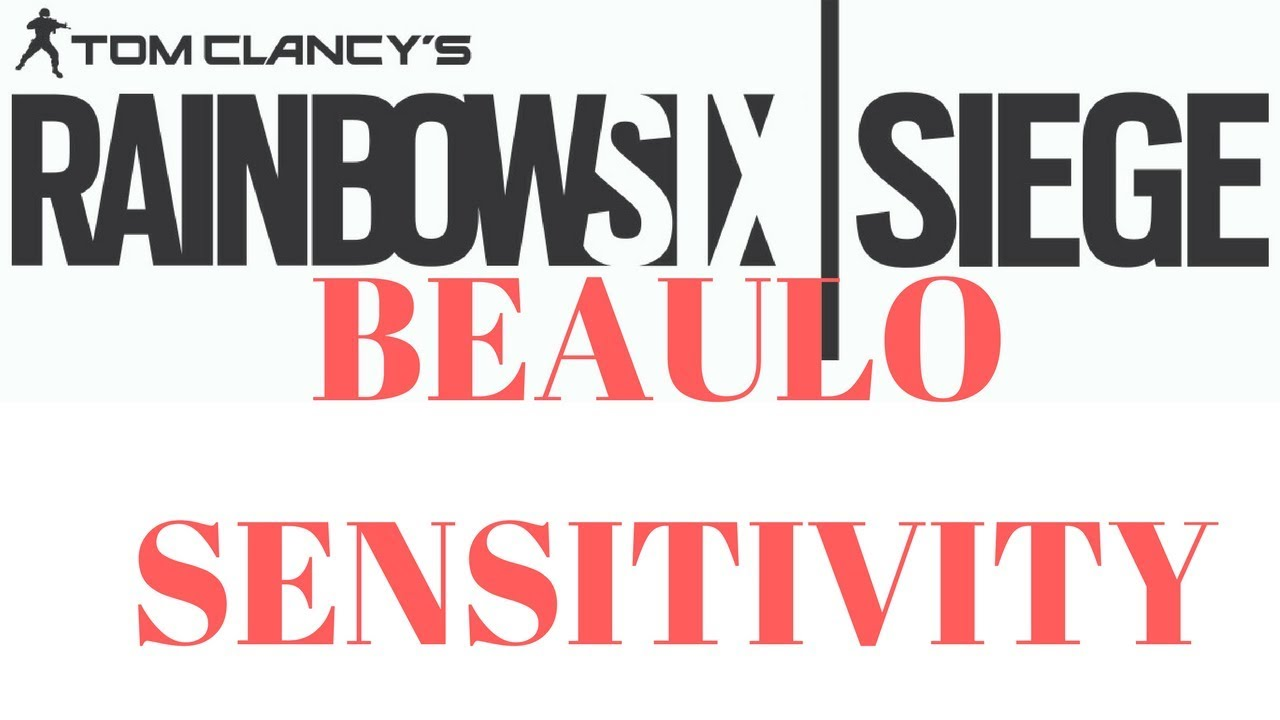 TRYING BEAULO'S SENSITIVITY: Rainbow Six Siege