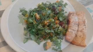 обалденный салат с рукколой (очень вкусный и очень полезный витаминный салат)