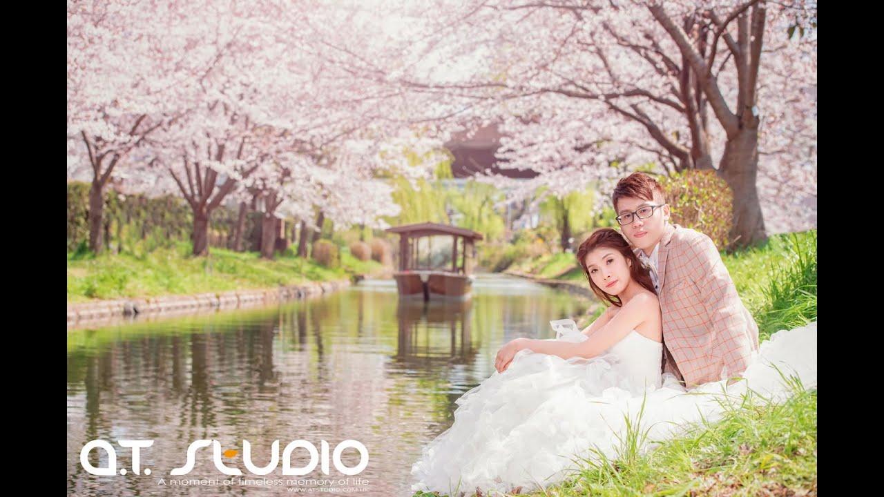 AT Studio [ 日本。京都 。櫻花 ]  海外婚紗攝影 Overseas Pre Wedding