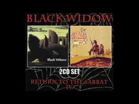 """Black Widow """"Return To The Sabbat""""1969 / """"Black Widow IV""""1972"""