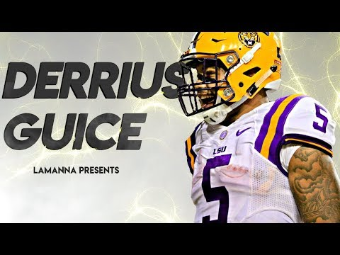 Derrius Guice || Best Running Back in College Football || Official 2016-17 LSU Highlights