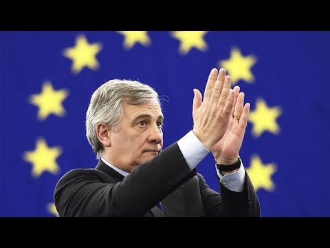 Antonio Tajani elected European Parliament's new president