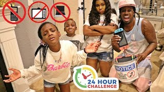 No Electronics For 24 Hours Challenge