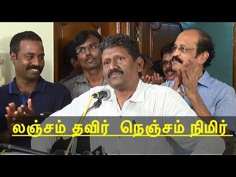 ias sagayam inspirational speech about makkal pathai | tamil news today | sagayam ias speech  redpix