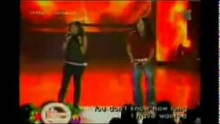 Charice and Arnel Peneda in Journey Band (ALONE Live in Philippines)