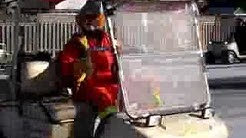 Clowns on Golf Carts