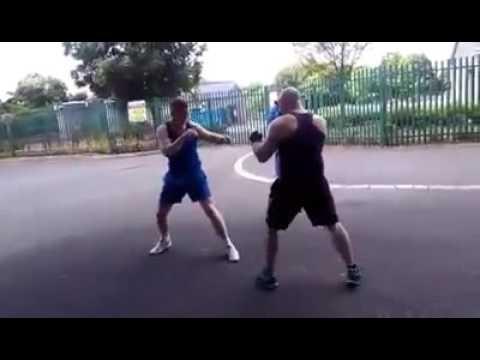 Traveller fights (davy joyce shows fair play)