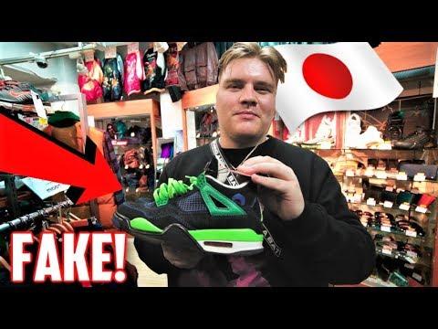 $250 FAKES JORDANS in JAPAN!? Thrift shopping in TOKYO!