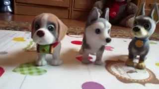 Моя коллекция фигурок - собаки всех пород. Dog figures collection