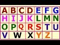 Learn ABC With Nursery Rhymes For Children    ABCD Colouring Pages For Kids..