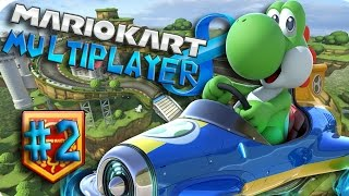 Mario Kart 8 Multiplayer - Balloon Battle #2 - (Nintendo Wii U Walkthrough)
