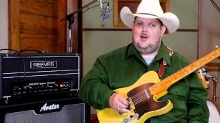 Reeves Space Cowboy - Johnny Hiland with a Telecaster