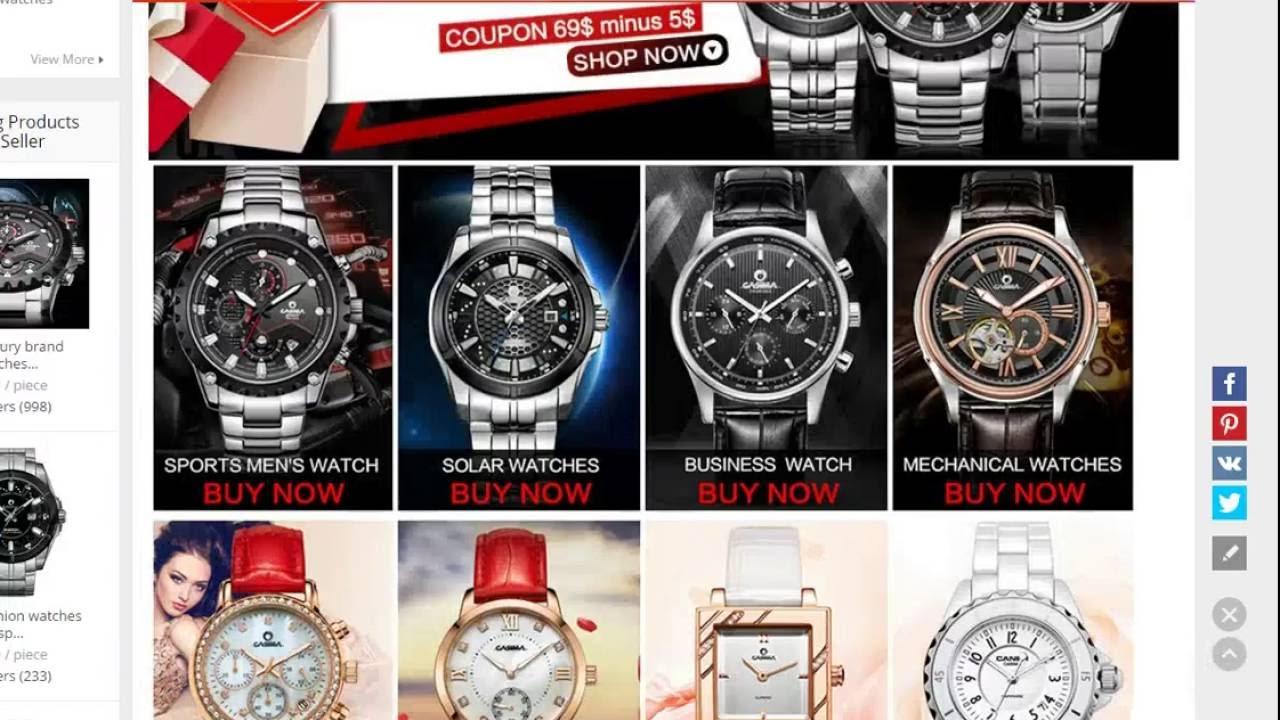 4212ed99b115 Dónde comprar relojes de calidad - Buy brand watches - YouTube