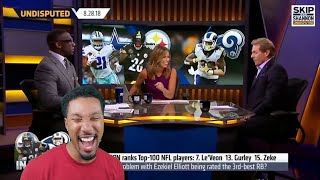 Skip Name Droppin! | Shannon Sharpe FUNNY MOMENTS Compilation | Reaction