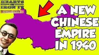 Hearts of Iron 4 HOI4 Trying To Make A New Chinese Empire in 1936 (Waking the Tiger)